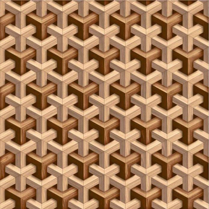 کفپوش سه بعدی کاشی سه بعدی سرامیک سه بعدی جنگل